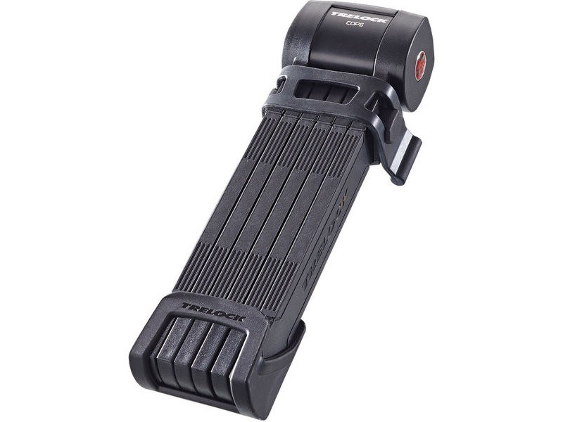 TRELOCK Folding Lock FS460 100cm COPS L Black Sold Secure Silver click to zoom image