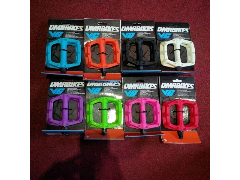 DMR V6 Lightweight Nylon Fibre Body Pedals click to zoom image