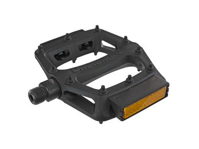 "DMR V6 Lightweight Nylon Fibre Body Pedals 9/16"" Axle Black with Reflector  click to zoom image"