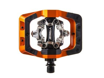 DMR V-Twin Clip In Pedal (Various Colours Available) Orange  click to zoom image