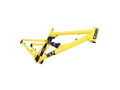 DMR Bolt Frame  Matte Yellow  click to zoom image