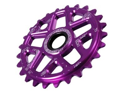 DMR Spin Standard Drive Chainring disc 27t Purple  click to zoom image