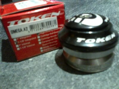 "TOKEN Omega A2 Alloy 1-1/8"" Integrated Headset"