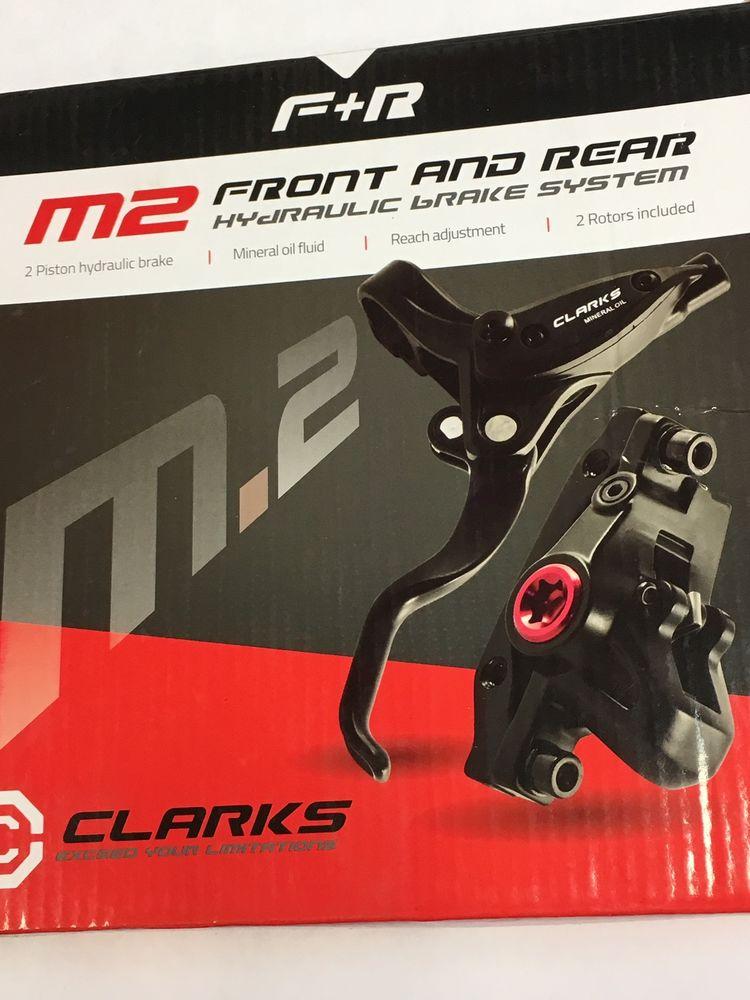 fecha límite rosario El otro día  CLARKS CYCLE SYSTEMS M2 Front & Rear Hydraulic Disc Brake Set | £59.99 |  Brakes | Brakes - Disc | Southwater Cycles